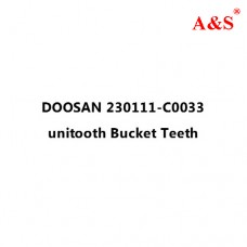 DOOSAN 230111-C0033 unitooth Bucket Teeth