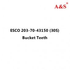 ESCO 203-70-43150 (30S) Bucket Teeth