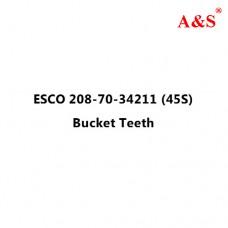 ESCO 208-70-34211 (45S) Bucket Teeth