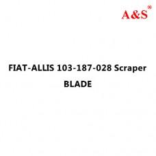 FIAT-ALLIS 103-187-028 Scraper BLADE