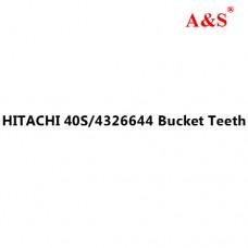 HITACHI 40S/4326644 Bucket Teeth