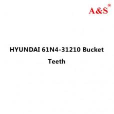 HYUNDAI 61N4-31210 Bucket Teeth