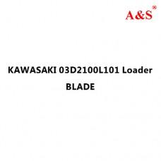 KAWASAKI 03D2100L101 Loader BLADE