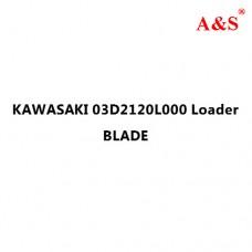 KAWASAKI 03D2120L000 Loader BLADE