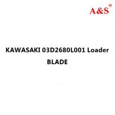 KAWASAKI 03D2680L001 Loader BLADE