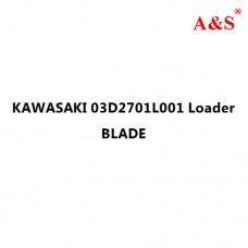 KAWASAKI 03D2701L001 Loader BLADE