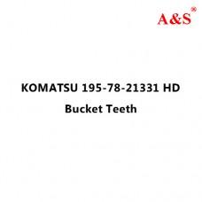 KOMATSU 195-78-21331 HD Bucket Teeth