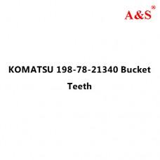 KOMATSU 198-78-21340 Bucket Teeth