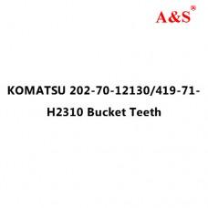KOMATSU 202-70-12130/419-71-H2310 Bucket Teeth