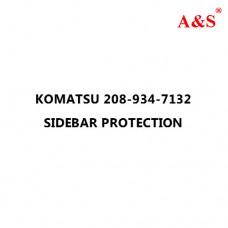 KOMATSU 208-934-7132 SIDEBAR PROTECTION