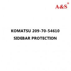 KOMATSU 209-70-54610 SIDEBAR PROTECTION