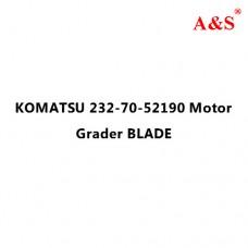 KOMATSU 232-70-52190 Motor Grader BLADE