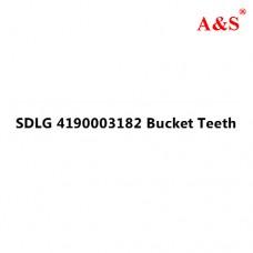 SDLG 4190003182 Bucket Teeth