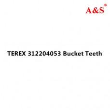 TEREX 312204053 Bucket Teeth