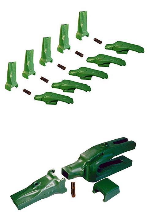 Electric Shovel teeth pin