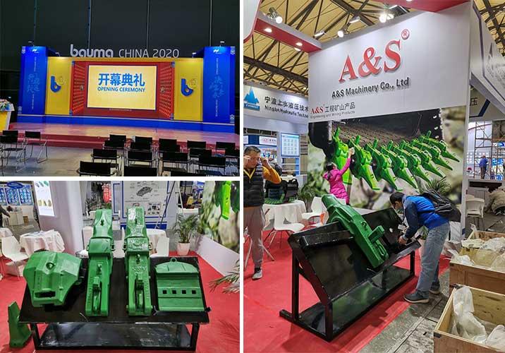 Bauma CHINA 2020,A&S Bucket Teeth Co., Ltd